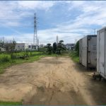 市川市原木約479.38坪 原木IC約3分 人気の原木!車両置場、資材置場に最適。