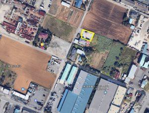人気の千葉北インター車で約5分。コンクリート敷きで即利用可! 稲毛区長沼原町約157坪